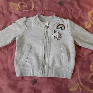 2/$20 Gymboree Patch Bomber Jacket